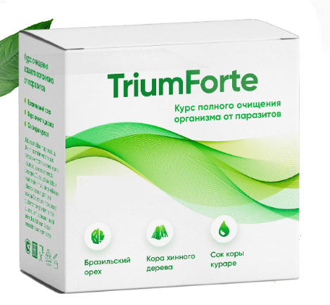 TriumForte (ТриумФорте) — капсулы от паразитов