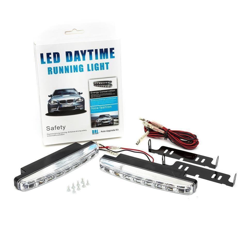 Дневные ходовые огни DRL 8 LED ДХО DR-2 030 | Лед фары дневные