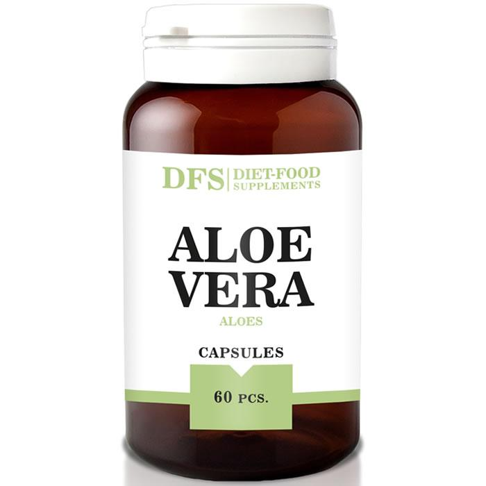 Алоэ Вера 500 мг 60 капс (Aloe vera 500mg)  Diet Food