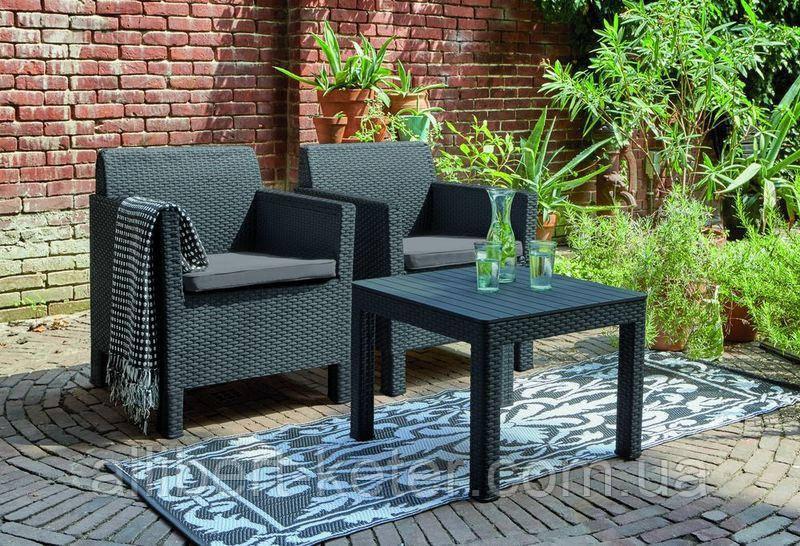 Набор садовой мебели Orlando Balcony Set из искусственного ротанга