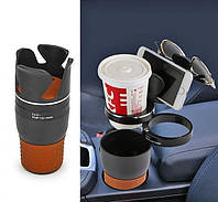 Автомобильный органайзер Car Holder 5 in 1 для стаканов и мелочей | Органайзер подставка для стаканов