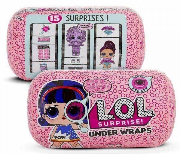 Игровой набор с куклой L.O.L. S4 - Секретные месседжи в дисплее | Кукла Лол Капсула  L.O.L. Surprise Eye Spy