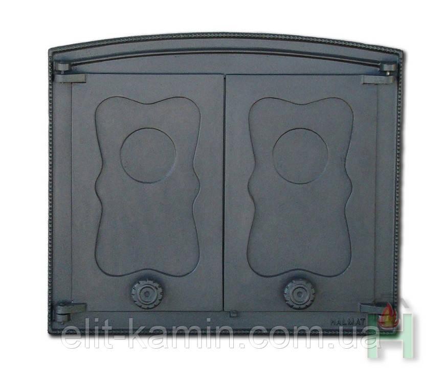 Чугунные дверцы Halmat Batumi I (Н3501) (440x380)