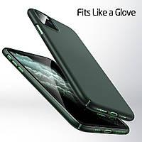 НОВИНКА 2020. Современный оригинальный чехол на iPhone 11 Pro Midnight Green