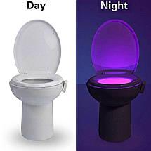 Подсветка для унитаза с датчиком движения LED LightBowl 8 цветов, фото 3