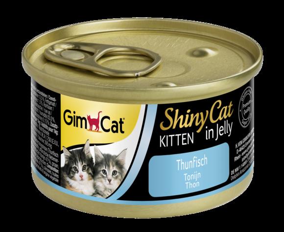 Консервы для котят с тунцом GimCat ShinyCat Kitten в желе 70 г