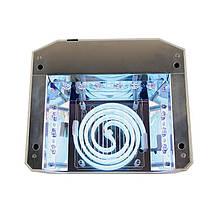 Гібридна лампа для нігтів 36W Quick CCFL + LED Nail Lamp, фото 3