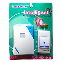 Бездротовий дверний дзвінок LUCKARM Intelligent на батарейках (D9688), фото 3