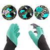 Рукавички з кігтями для саду і городу Garden Genie Gloves, фото 4