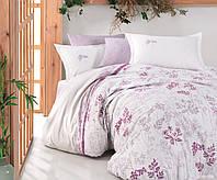 Комплект постельного белья Clasy Ранфорс 200х220 Lavenda, фото 1