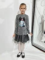 Детское платье с бантом