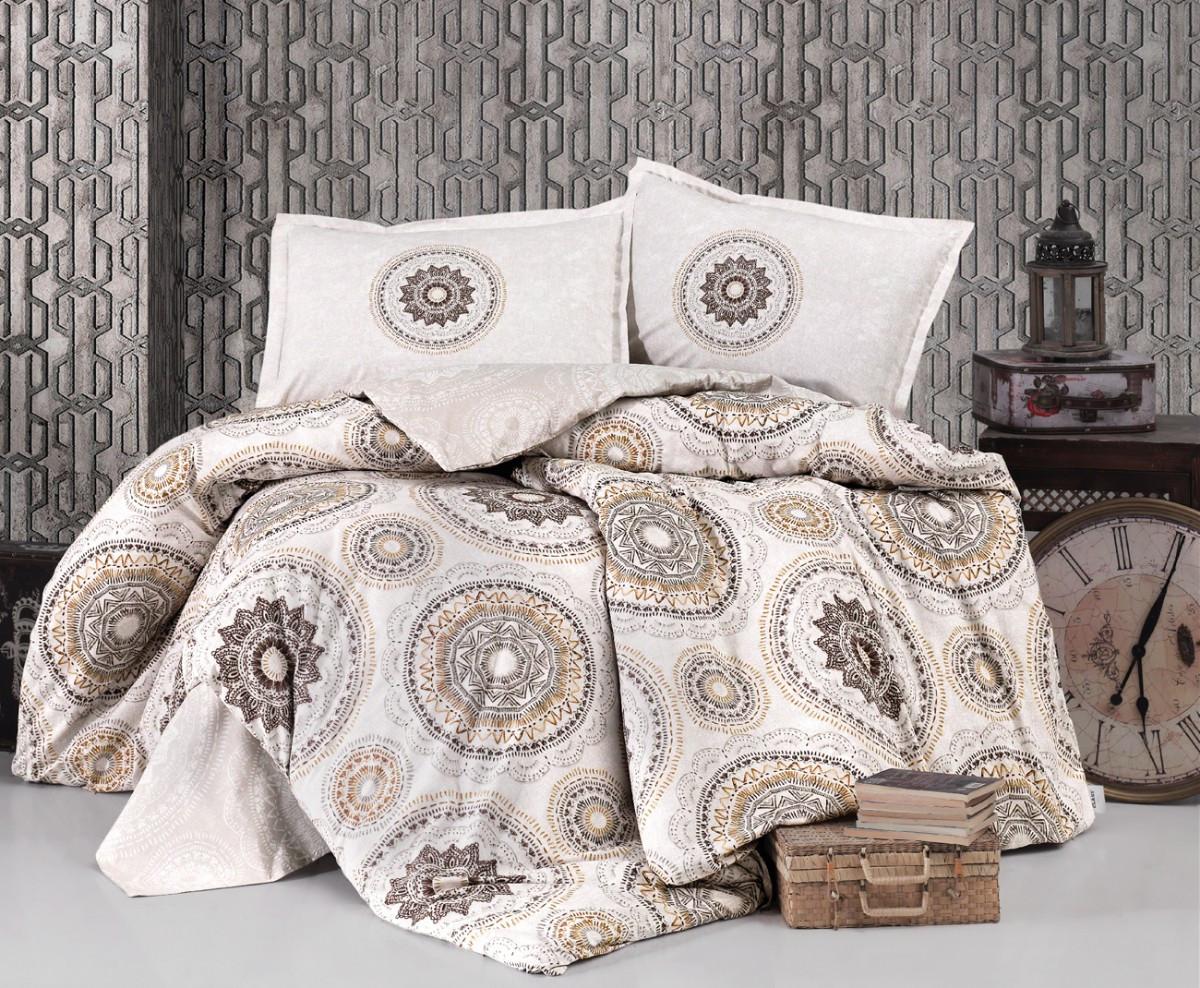 Комплект постельного белья Clasy Ранфорс 200х220 Manila V1