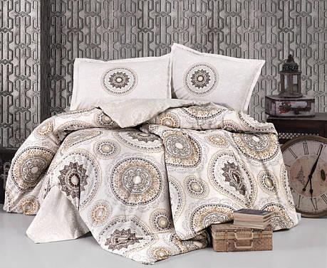 Комплект постельного белья Clasy Ранфорс 200х220 Manila V1, фото 2