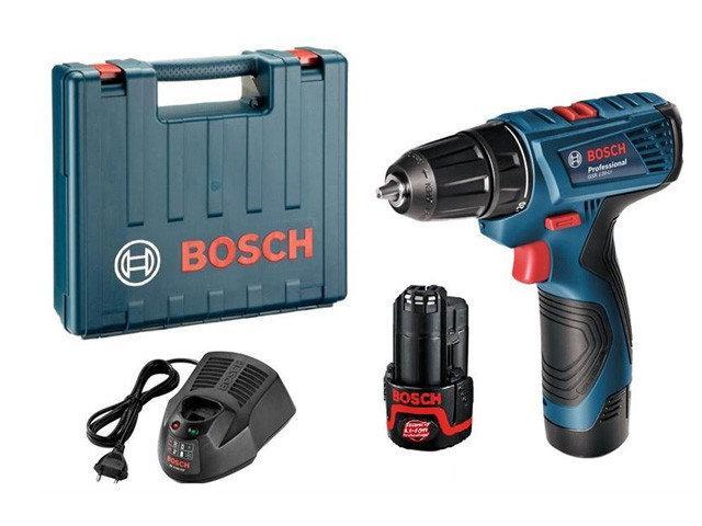 Шуруповерт Bosch GSR 120-LI ✔Li-ion 2 аккума ✔ Гарантія 3 роки