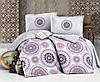 Комплект постельного белья Clasy Ранфорс 200х220 Manila V2