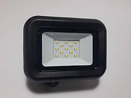 Светодиодный прожектор GLX 10W IP65 5000К черный