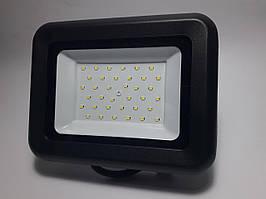 Светодиодный прожектор GLX 30W IP65 5000К черный