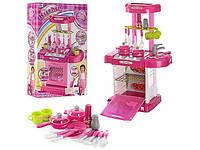 Детский игровой набор кухня с посудой 928051-008-58 Bambi световые и звуковые эффекты