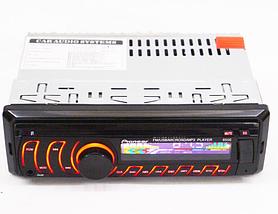 Автомобильная магнитола 1DIN MP3-8506 RGB панель + пульт управления | Автомагнитола, фото 2