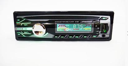 Автомобільна магнітола 1DIN MP3-3215BT Bluetooth | RGB панель + пульт управління | Автомагнітола, фото 3