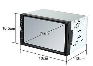 Автомобильная магнитола MP5 2DIN 7012 Little USB + рамка | Автомагнитола, фото 3