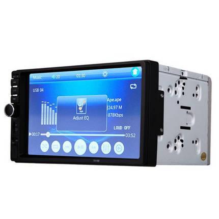 Автомобильная магнитола MP5 2DIN 7018 USB + рамка | Автомагнитола, фото 2