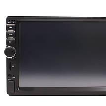 Автомобильная магнитола MP5 2DIN 7018 USB + рамка | Автомагнитола, фото 3