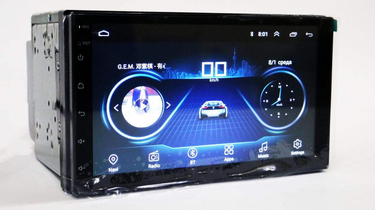 Автомобильная магнитола 2DIN android 4S   Автомагнитола