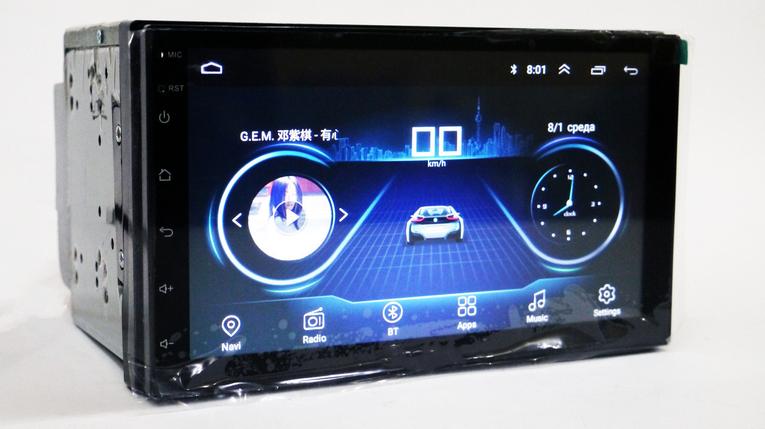 Автомобильная магнитола 2DIN android 4S   Автомагнитола, фото 2