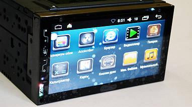 Автомобильная магнитола MP3 2DIN 6309-3 Android GPS DVD + GPS + 4 Ядра | Автомагнитола, фото 2