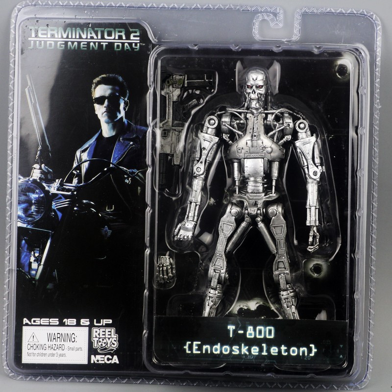 Уценка! Фигурка NECA Терминатор T-800 Terminator 2 Judgment Day Endoskeleton эндоскелет