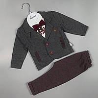 Гарний костюм трійка для хлопчиків Туреччина оптом