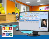Програма обліку клієнтів і складу Fitness Soft (без абонплати)