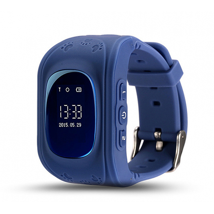 Дитячі Смарт-годинник Smart Baby Watch Q50 | Сині, фото 2