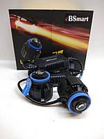 Автолампы лазерные Laser1 BSmart H11, H9, H8, 4800Lux, 6000K, 9-17В