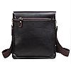 Мужская сумка через плечо POLO VIDENG | Черная, фото 2