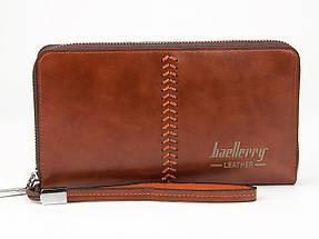 Гаманець Baellerry Leather SW008 | Чоловічий гаманець | Чоловічий клатч | Чорний, фото 3