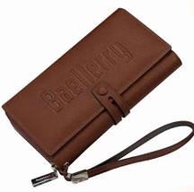 Портмоне BAELLERRY S1393 | Чоловічий гаманець | Чоловічий клатч | Чорний, фото 3