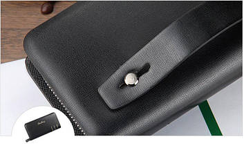 Мужской кошелек портмоне-клатч Baellerry Casual S6111 | Мужской кошелек | Мужской клатч | Черный, фото 2