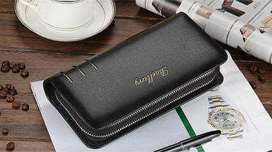 Мужской кошелек портмоне-клатч Baellerry Casual S6111 | Мужской кошелек | Мужской клатч | Черный, фото 3