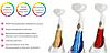 Ультразвуковая щетка для умывания и чистки лица Pobling face cleaner | Массажер для лица | Красная, фото 5