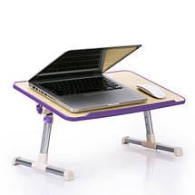 Складной столик подставка для ноутбука Multifunction Laptop Desk, фото 3