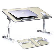 Складной столик подставка для ноутбука Multifunction Laptop Desk | Зеленый, фото 2