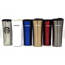 Термокружка Starbucks-3 500 мл   Тамблер Старбакс   Термос   Черная, фото 2