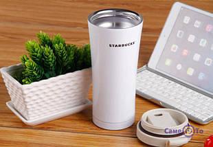 Термокружка Starbucks-3 500 мл | Тамблер Старбакс | Термос | Красная, фото 3