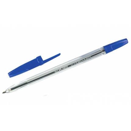 Ручка шариковая Economix Е10117-02, синяя, фото 2