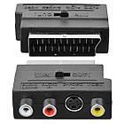Переходник SCART / 3*RCA с переключателем