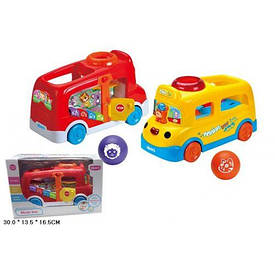 Детский автобус с звуковыми эффектами