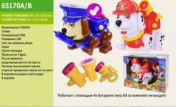 "Интерактивная собака ""Smart Tom"" (полиция) 65170A/B"