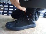 Стильные зимние нубуковые ботинки под кеды на молнии Madoks, фото 6